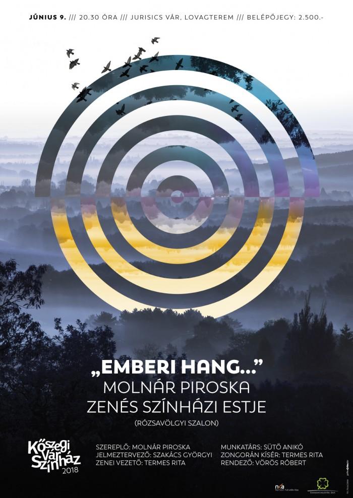 """""""Emberi hang…"""" Molnár Piroska zenés színházi estje"""