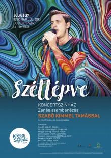 Széttépve - koncertszínház - Zenés szembenézés Szabó Kimmel Tamással