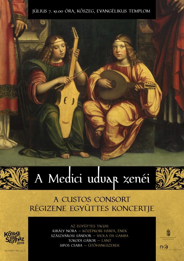 A Medici udvar zenéje – Custos Consort Régizene Együttes koncertje