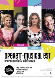Operett-musical est az Operettszínház művészeivel