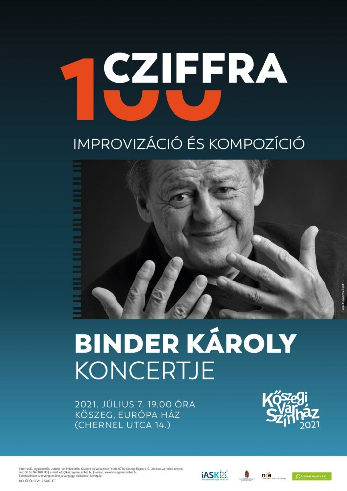 Binder Károly koncertje Cziffra György emlékére