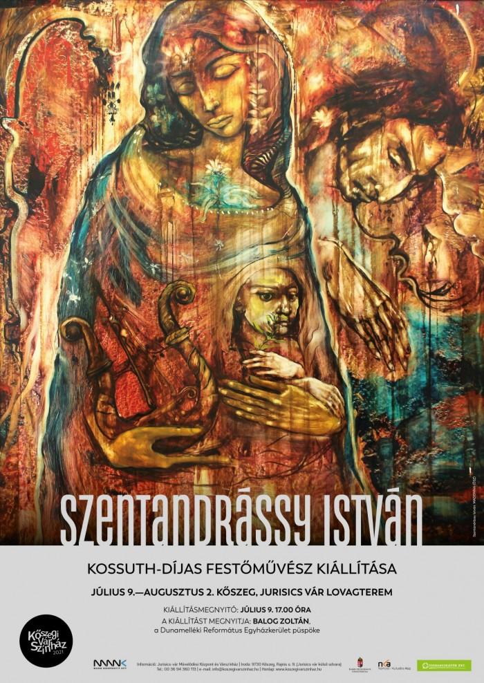 Szentandrássy István Kossuth –díjas festőművész kiállítása
