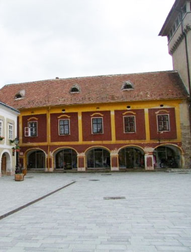 The Footing House – Historical Archive of Kőszeg