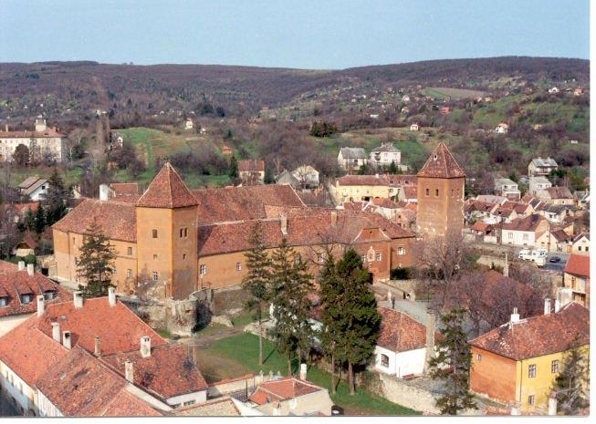 Крепость Юришича в венгерском городе Кесег